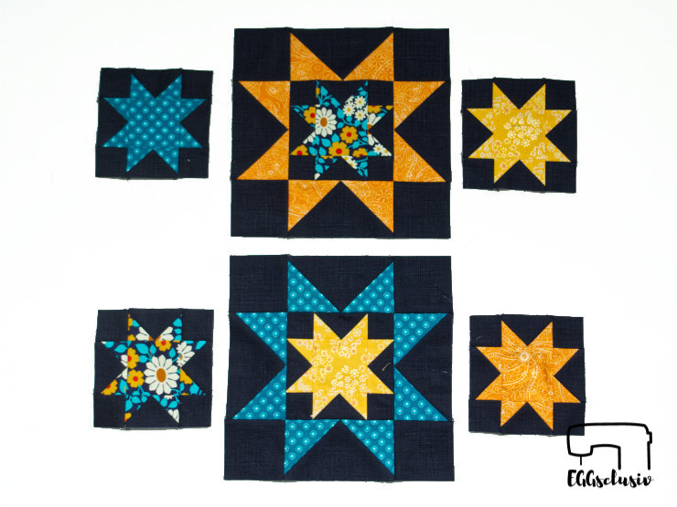6Köpfe12Blöcke2019 Juni (Eight Hands Around), Patchwork nähen