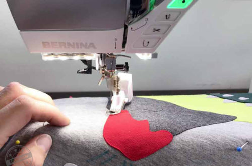 EGGsclusiv: Nähmalen, Applizieren mit dem Bernina BSR Stitch Regulator