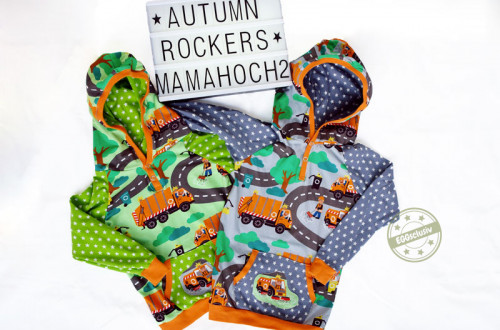 EGGsclusiv: Autumn Rockers - Mamahoch2 Freebook als Hoodie nähen