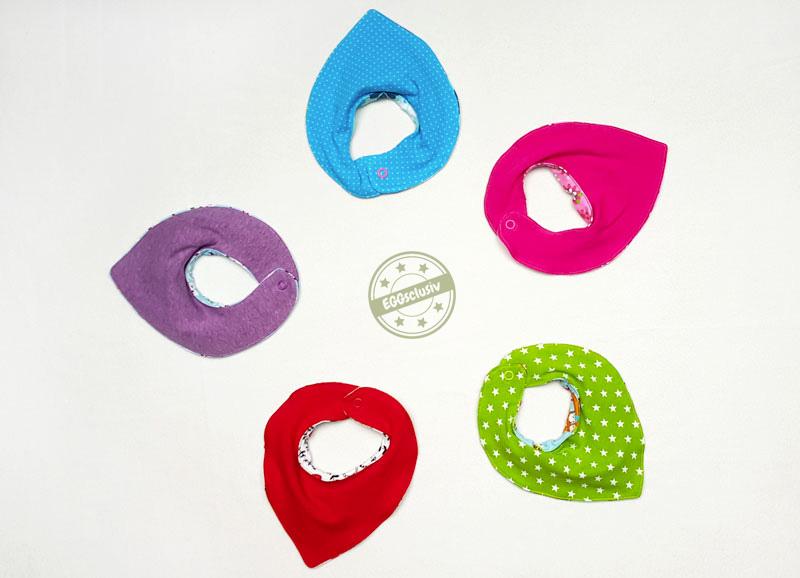 EGGsclusiv: Bandani-Halstuch - Klimperklein für Babys nähen