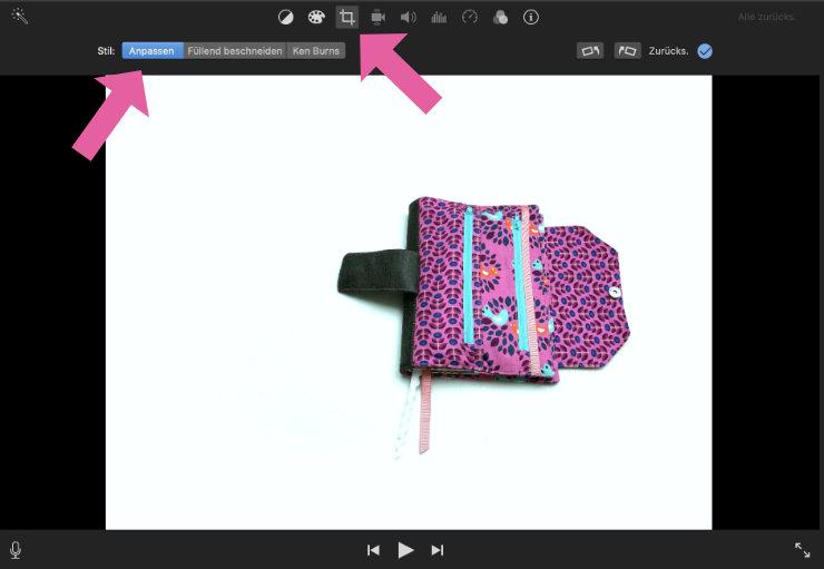 Stop-Motion für Instagram erstellen, Buchhülle Deluxe - herzensüß