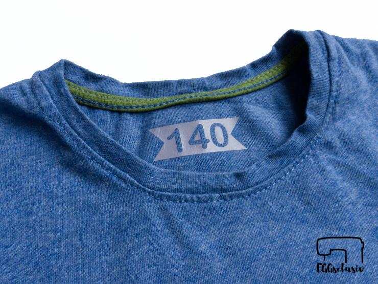 EGGsclusiv: Shirt nähen und Größenlabel plotten mit dem Cricut Maker