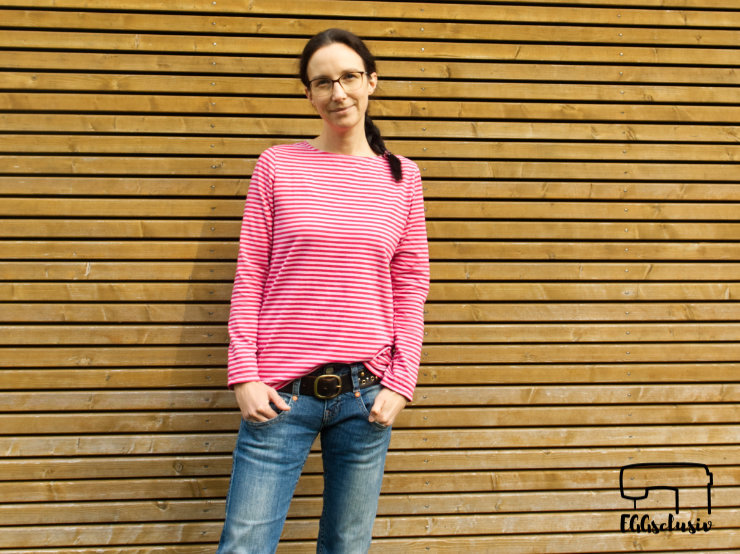 EGGsclusiv: Basic-Shirt Weekday aus der Ottobre 5/2017 nähen für Frauen