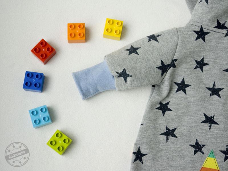 """EGGSclusiv: Jolly Jumper - Lybstes, Schühchen - Nähen mit Jersey """"Babyleicht"""" - Klimperklein, Overall Baby"""