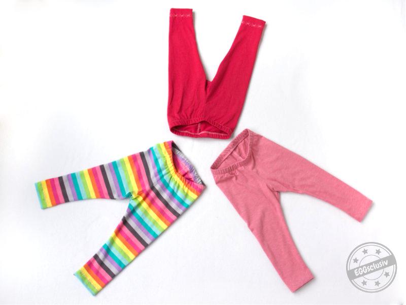 EGGsclusiv: Leggings nähen, Schnittmuster Klimperklein - Nähen mit Jersey: Babyleicht