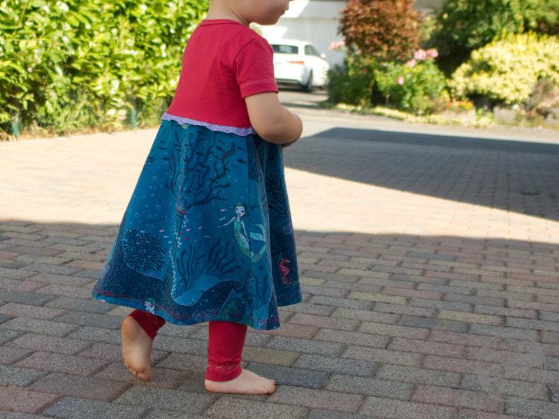 Kleine Meerjungfrau - Lotti\'s Drehkleid, Body und Leggings - EGGsclusiv