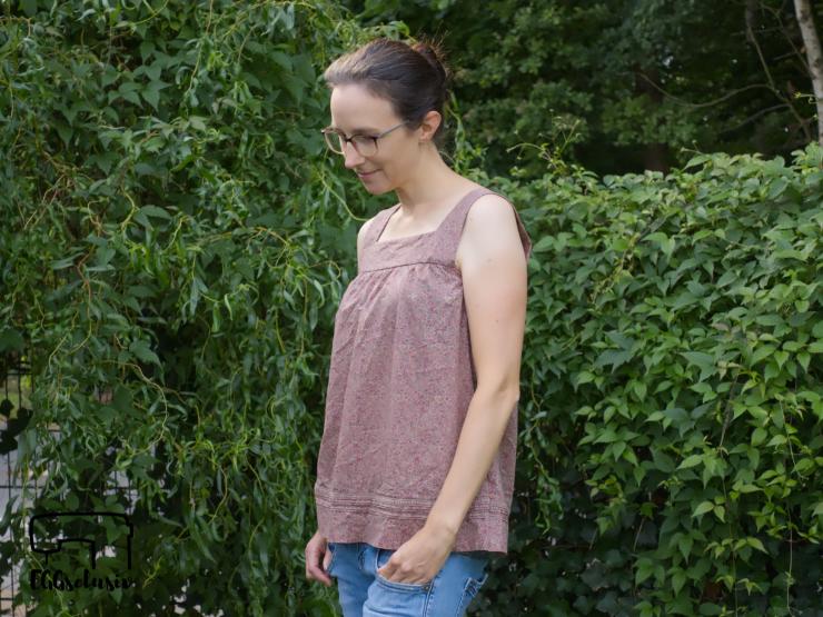 EGGsclusiv: Upcycling Mädesüß Damen von Firlefanz aus einem alten Kleid