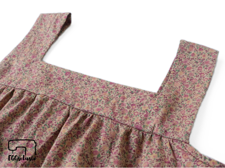 EGGsclusiv: Upcycling Mädesüß Damen von Firlefanz aus einem alten Kleid, Detail