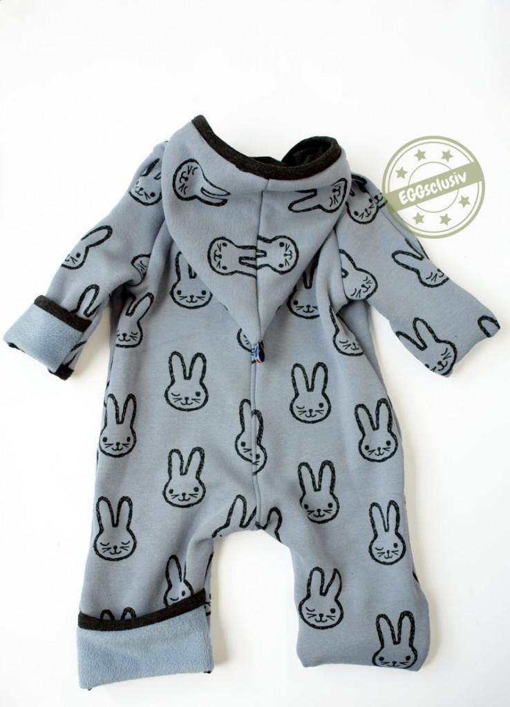 EGGsclusiv: Outdoooranzug für Baby nähen, Schnittmuster Nähen mit Jersey - babyleicht von Klimperklein