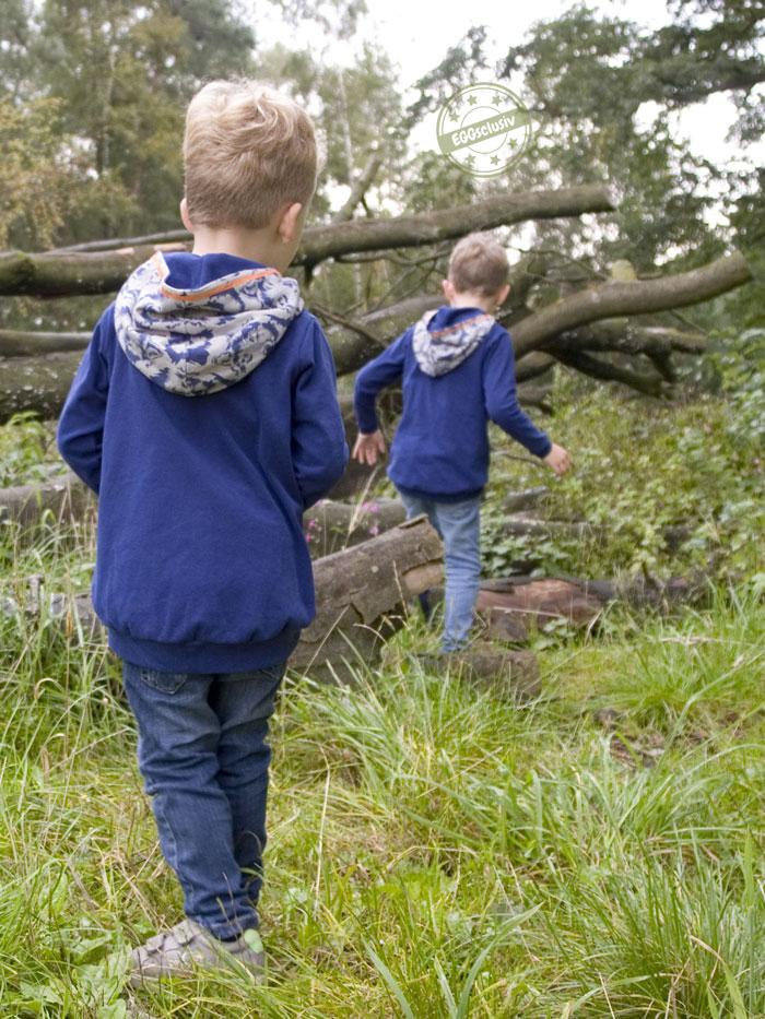 EGGsclusiv: Pullover für Jungs nähen, Pull*ee von NipNaps mit Wolf