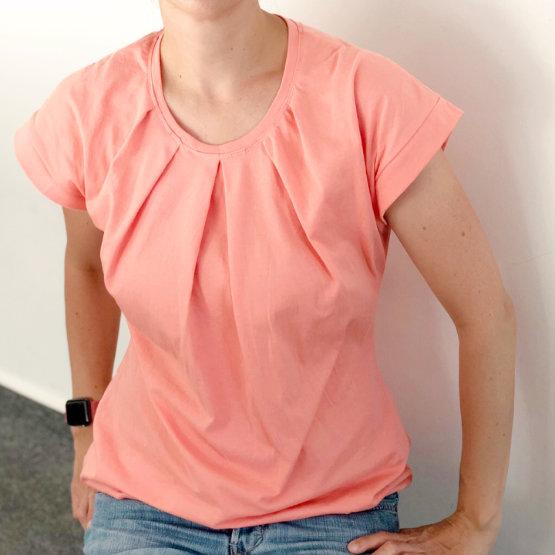 EGGsclusiv: Shirt nähen für Frauen, Santa Barbara - Pech & Schwefel, Probeshirt
