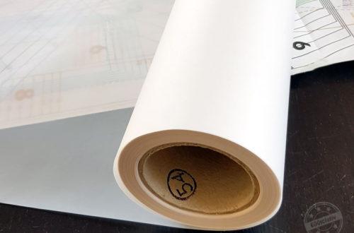 EGGsclusiv: Tutorial Schnittmuster abpausen auf Architektenpapier.