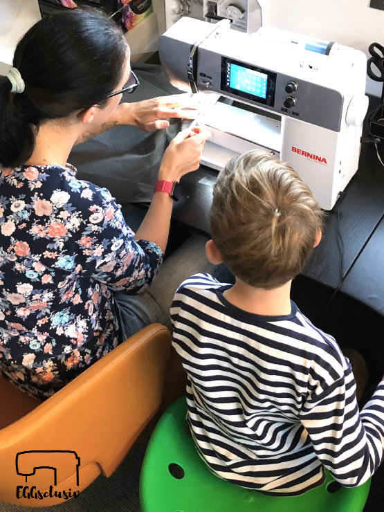 EGGsclusiv: Nähen mit Kindern , Schürz nähen