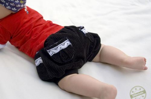 EGGsclusiv: kurze Pumphose nähen, Shorty Knirps - Ankerknirps, Cord, Baby