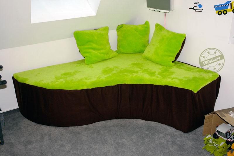 EGGsclusiv: Sofabezug und Kissenbezüge nähen für Kinderzimmer