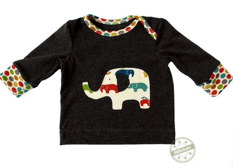 EGGsclusiv: schmales Shirt - Nähen mit Jersey - babyleicht! von Klimperklein nähen für Baby