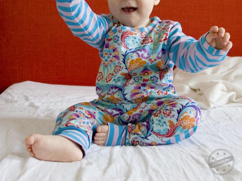 EGGsclusiv: Wickelanzug - Klimperklein, Schlafanzug